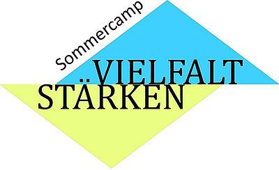 Logo Vielfalt stärken – Sommercamp