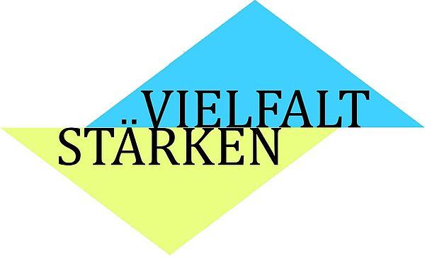 """Logo des Projekts """"Vielfalt stärken"""""""