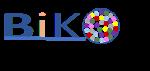 Logo des Berufsfeldpraktikums in inklusivem Kontext BiKo. Das O von BiKo beinhaltet viele verschiedenfarbige Punkte.